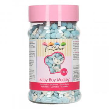 Sprinkles Mix Bebe Niño Azul 180 gr Funcakes