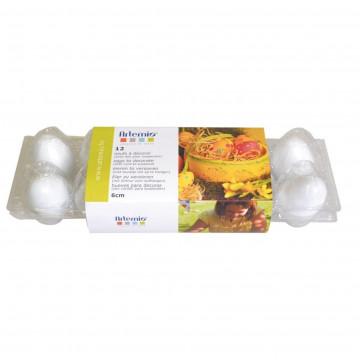 Pack de 12 Huevos de Plástico