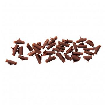 Rizos de chocolate con leche para decorar 1kg Callebaut