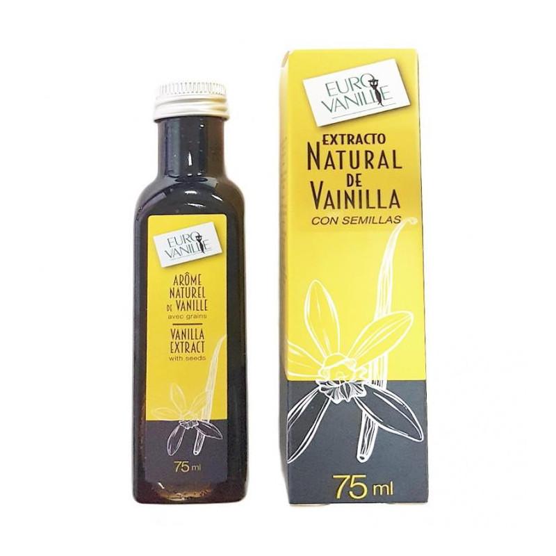 Extracto de Vainilla con Semillas Bourbon de Madagascar 75 ml Eurovanille