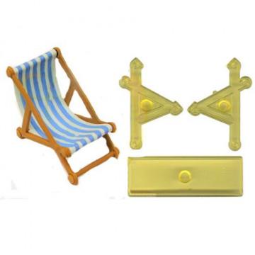 Cortante pack 2 piezas: Silla de playa JEM