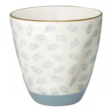 Tazón de leche Lianna Pale Blue With Gold