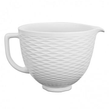 Bol de cerámica con relieve 4.7 litros Kitchen Aid