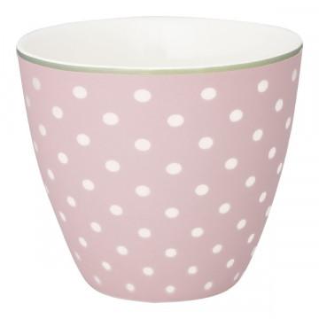 Tazón de leche Spot Pale Pink Green Gate