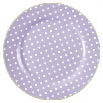Plato de cerámica 20 cm Spot Lavendar Green Gate