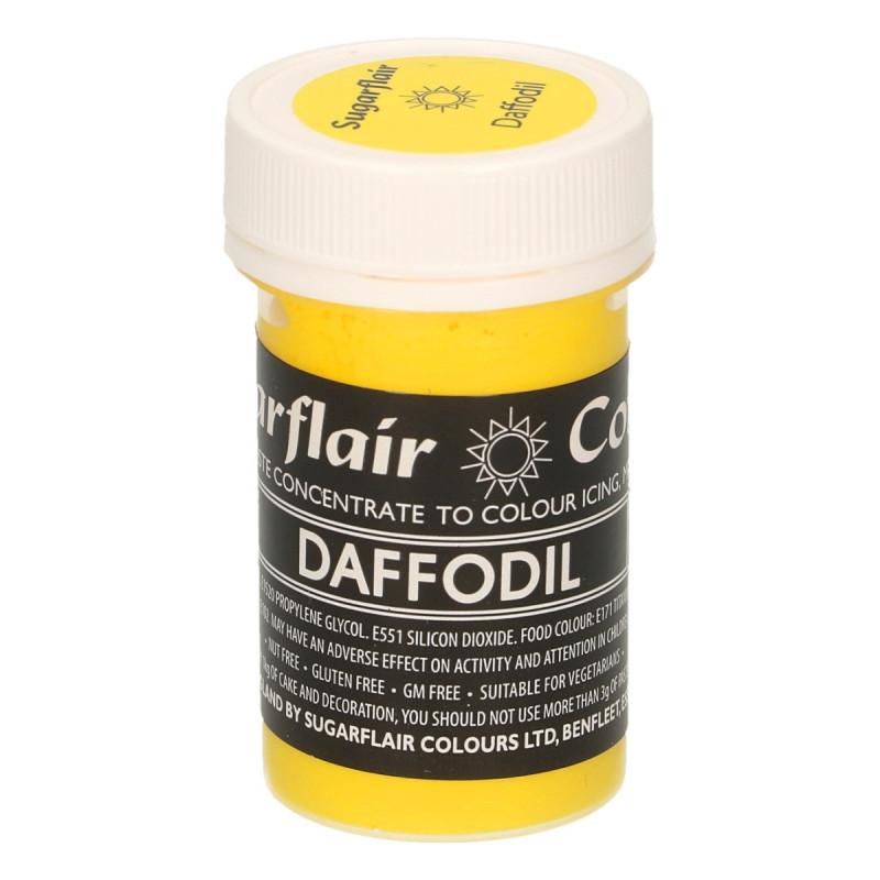 Colorante en pasta Gama Pastel Amarillo Daffodil Sugarflair