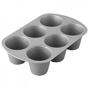Molde maxi muffins 6 cavidades Wilton