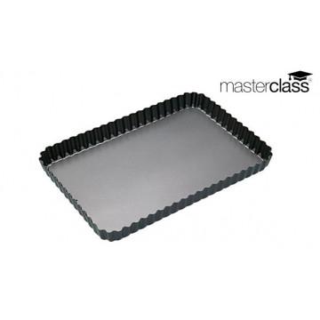 Molde rectangular rizado 30 x 20 cm