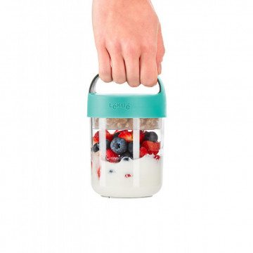 Tupper para llevar Jar to Go 400 ml Lékué