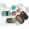 Lonchera compatimentos Lunch Box Coral Lékué