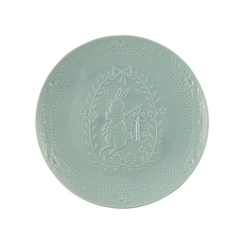 Plato de cerámica 20 cm Evy mint Green Gate