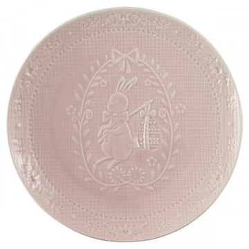 Plato de cerámica 20 cm Evy Pale Pink Green Gate