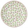 Plato de cerámica Lily Petit White Green Gate