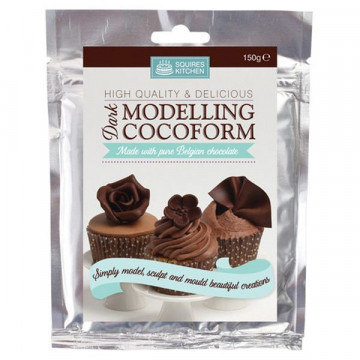 Chocolate Plastico Chocolate Negro Cocoform Dark SK