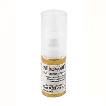 Spray de purpurina fina Oro Silikomart