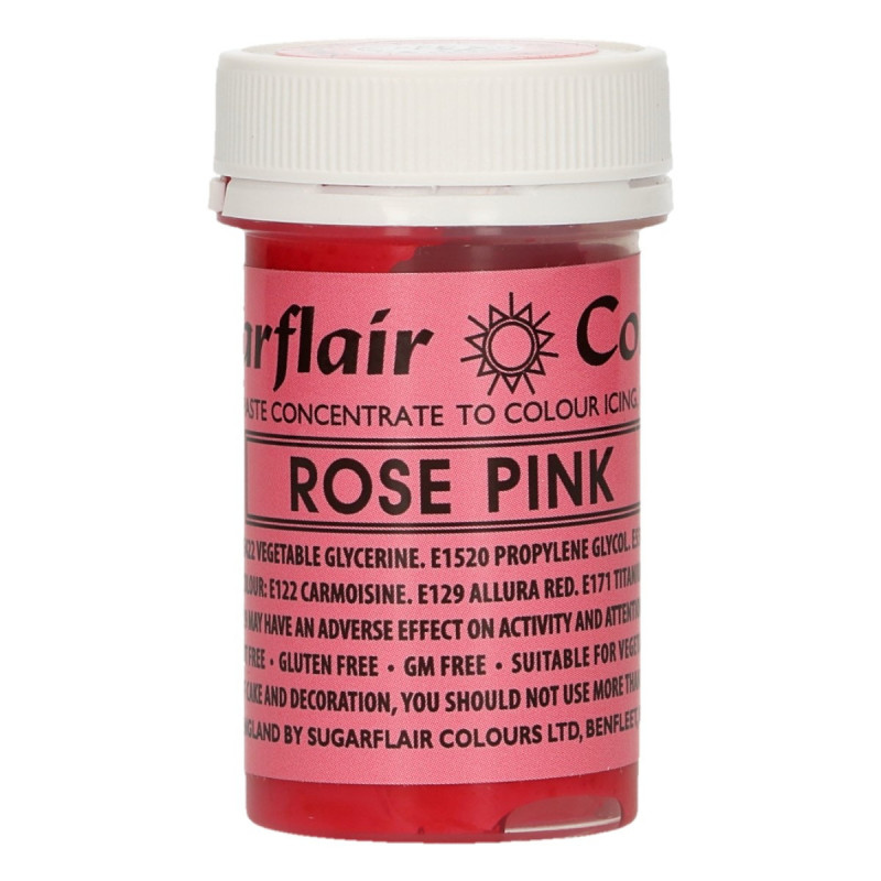 Colorante en pasta Rose Pink Sugarflair
