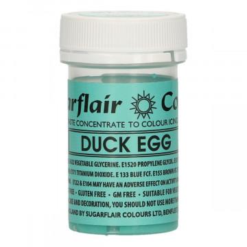 Colorante en pasta Verde Turquesa Duck Egg Sugarflair