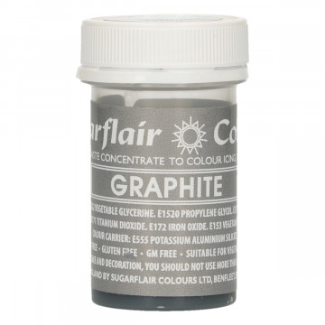Colorante en pasta Gris Grafito Graphite Sugarflair
