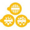 Stencils Rayas y Lunares Cupcakes/Cookies