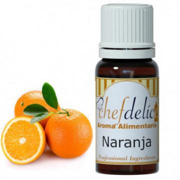 Aroma concentrado Naranja 10 ml Chefdelice