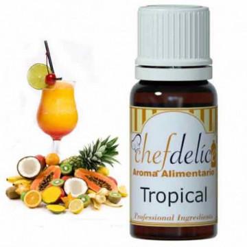 Aroma concentrado Tropical 10 ml Chefdelice