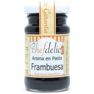 Frambuesa en pasta emulsión 50gr Chefdelice