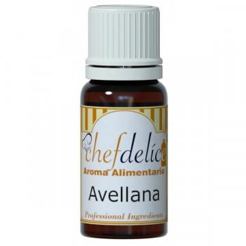 Aroma concentrado Avellana 10 ml Chefdelice