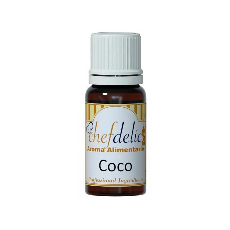 Aroma concentrado Coco 10 ml Chefdelice