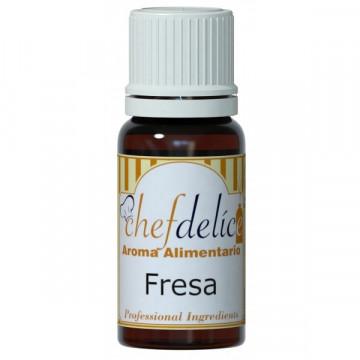 Aroma concentrado Fresa 10 ml Chefdelice