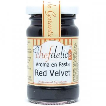 Red Velvet en pasta 50gr Chefdelice