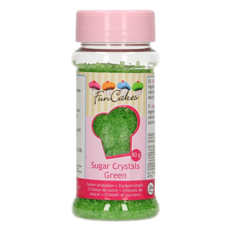 Azúcar decorador Verde Funcakes