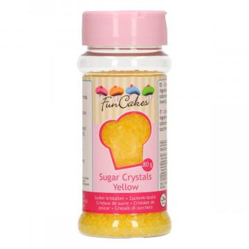 Azúcar decorador Amarillo Funcakes