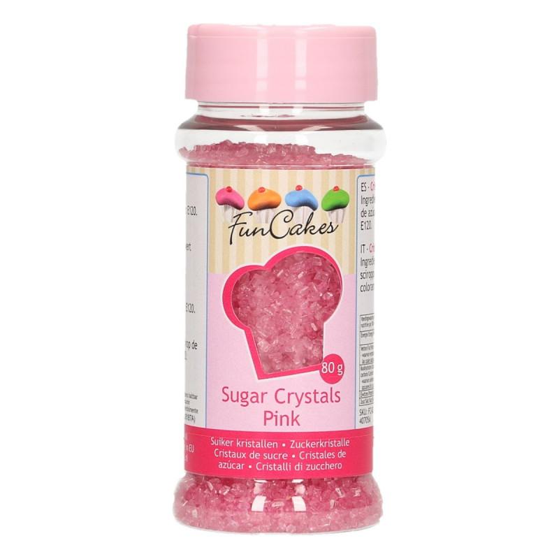 Azúcar decorador Rosa Funcakes