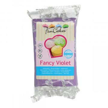 Fondant violeta fancy Funcakes 250 gr