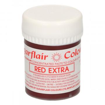 Colorante en pasta Extra Red Rojo extra Sugarflair