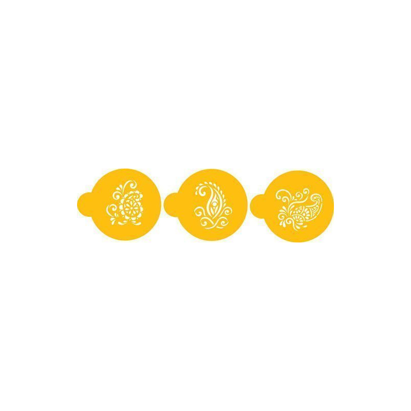 Stencils Cashemir Mini Cupcakes/ Cookies
