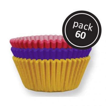 Cápsulas cupcakes Colores básicos PME