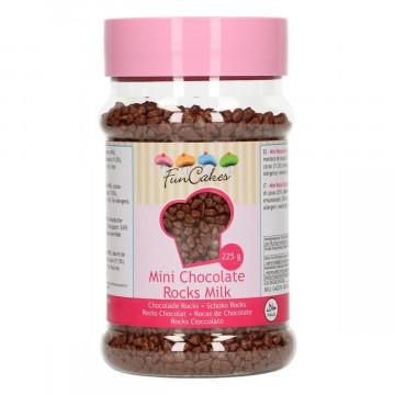 Rocas de chocolate con leche 225 gr Funcakes