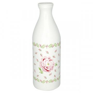 Botella de cerámica Lily Petit White Green Gate