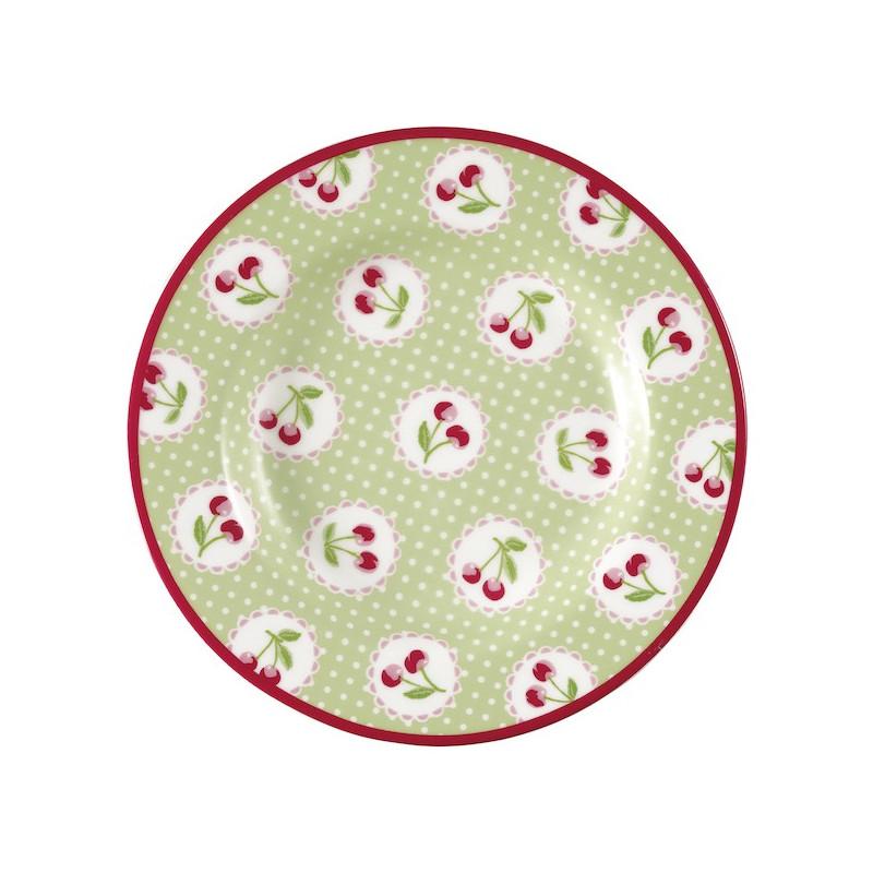 Plato de cerámica 15 cm Cherry Berry Green Gate