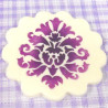 Stencils Royal Damask Pack 3 Cupcakes/ Cookies