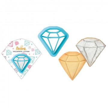 Cortante de Galleta Diamante Decora Italia
