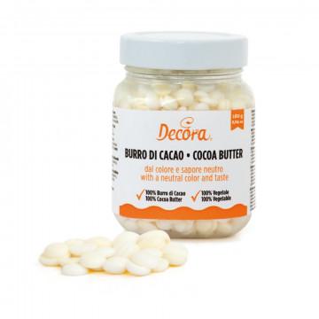 Manteca de Cacao en perlas 160 gr Decora Italia