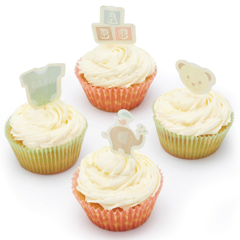 Set de cupcakes: Baby Sweetly Does It