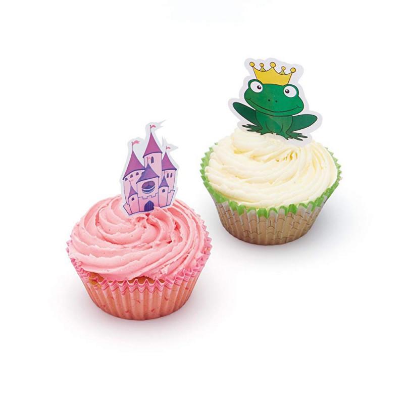 Set de cupcakes: Princesa y Rana Sweetly Does It