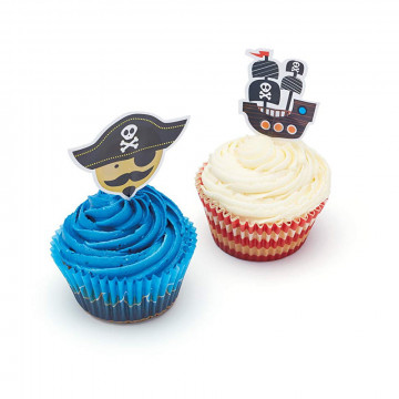 Set de cupcakes: Pirata Sweetly Does It