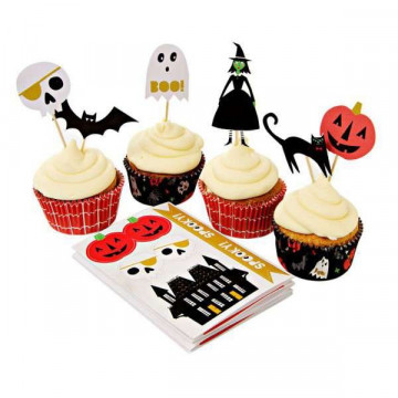 Set para cupcakes: Halloween Meri Meri