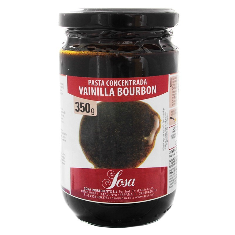 Pasta de Vainilla 350gr Sosa
