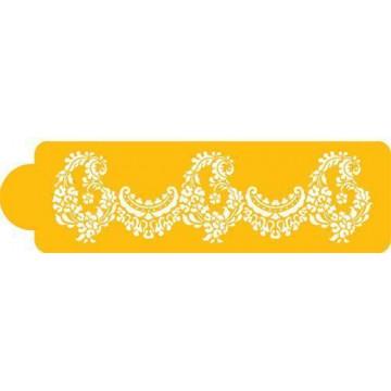 Stencils Alencon Lace Piso 3