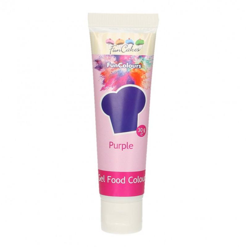 Colorante en gel Violeta Purpura 30 gr Funcakes